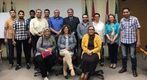 Meeting with E-khorda entrepreneurs